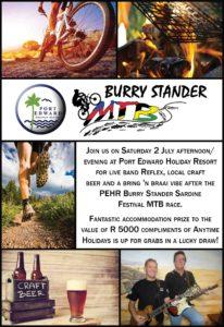PEHR Burry Stander MTB Race Advert