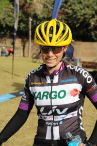 45km MTB winner - Hayley Smith